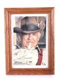 Bob Scriver Signed Picture