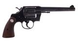 Colt Official Police Pistol .38 Special Revolver