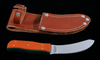 Custom Gerome Weinand Skinner Knife w/ Sheath