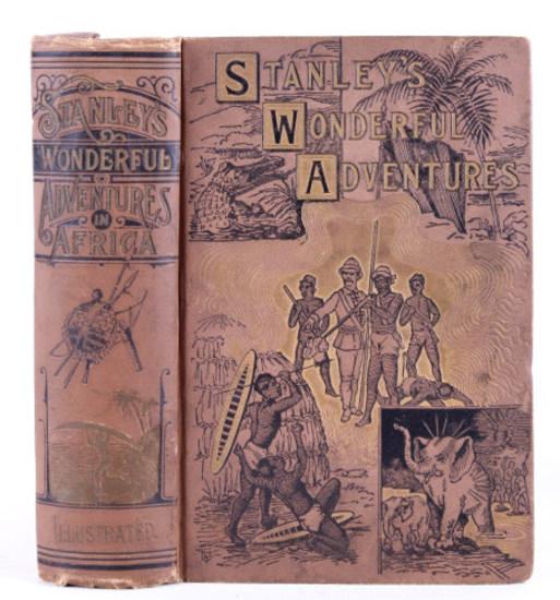 Stanley's Wonderful Adventures; First Edition 1890