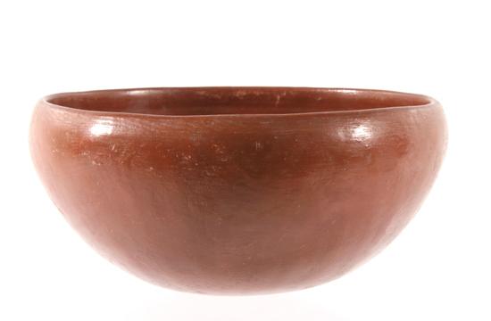 Ohkay Owingeh (San Juan) Pottery Dough Bowl 19th C