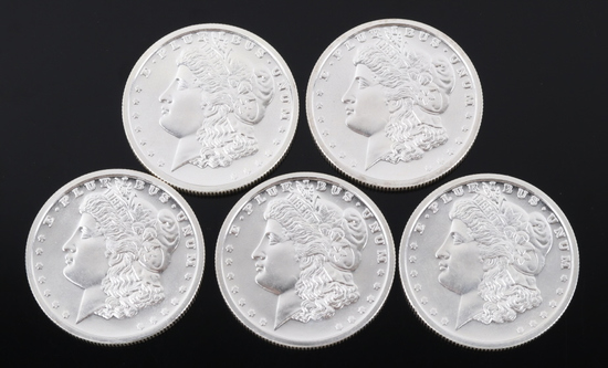 Morgan Dollar .999 Fine Silver Round Collection