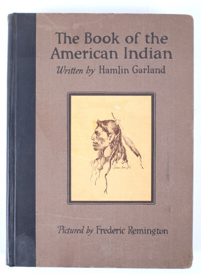 The Book of the American Indian 1st Edition c.1923