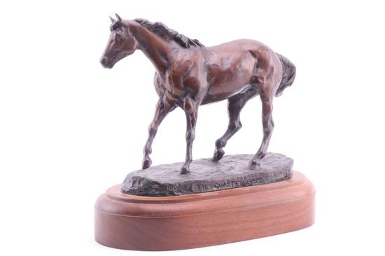 "Dwyer, Anna ""The Quarter Horse"" Limited Bronze"