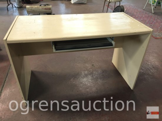 """Office - computer desk w/pull out keyboard drawer, 49.5""""wx24""""dx30""""h"""
