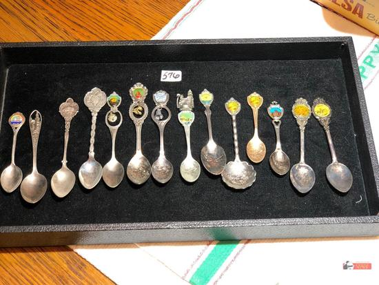 Collector Spoons - 14 - all California