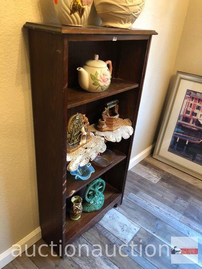 "Furniture - Narrow shelf, 24""wx8""dx45""h, 3 adjustable shelves"