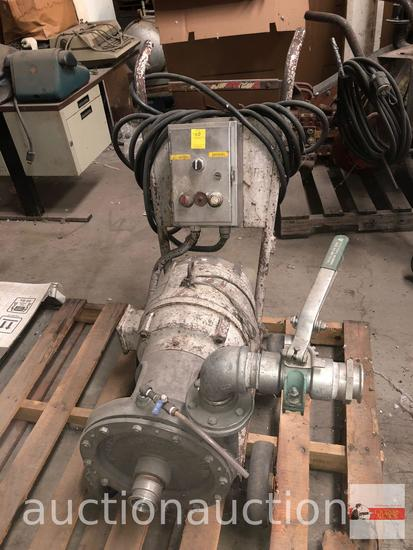 Machinery - Lg. portable Irrigation pump, electric, Valley Foundry & Machine Works