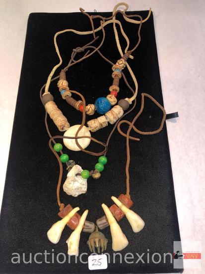 Jewelry - 4 Necklaces, lg.