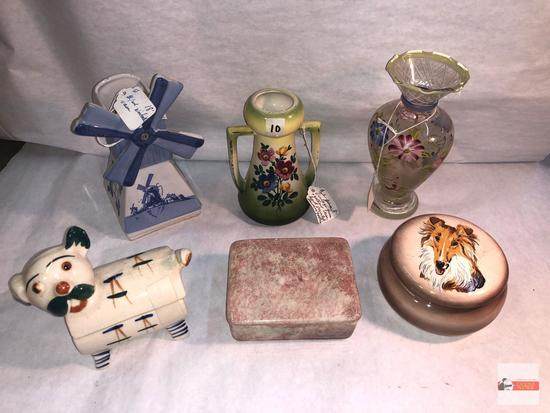 Collectibles - Vases and trinket boxes