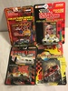 Lot of 4 NIP Collector Racing Champions Assorted Die Cast Cars 1:64 Scale