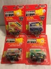 Lot of 4 NIP Collector Racing Champions Stock Rods Assorted Die Cast Cars 1:64 Scale