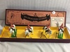 "Collector Britains Royal Scots Grey Hand Painted Metal Model Figures Box: 4""x15.5"""