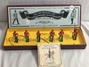 "Collector 1996 Britains Oxford & Bucks Regiment Hand Painted Metal Model Figures Box: 4""x12"""