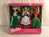 "NIB Barbie Mattel  Dolls Of The Wolrd Limited Edition Set Irish, German Polynesian 13.5""T"