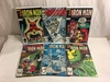 Lot of 6 Collector Vintage Marvel Comics The Invincible Iron Man No.178.179.180.181.182.185.