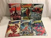 Lot of 6 Collector Vintage Comics Daredevil The Mna Without Fear No.199.214.249.250.251.252.