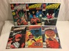 Lot of 6 Collector Vintage Comics Daredevil The Mna Without Fear No.253.254.255.256.258.260.