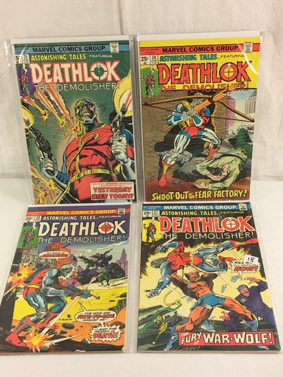 Lot of 4 Pieces Collector Vintage Marvel Comics Deathlok The Demolish No.27.28.30.31.
