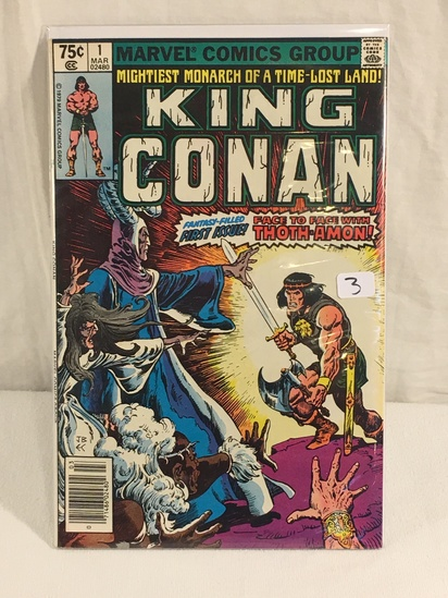 Collector Vintage Marvel Comics King Conan Comic Book No.1