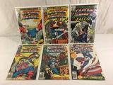 Lot of 6 Pcs Collector Vintage Marvel Captain America Comic Books No.222.223.224.225.227.228.