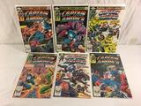 Lot of 6 Pcs Collector Vintage Marvel Captain America Comic Books No.269.270.271.272.273.274.