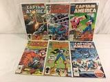 Lot of 6 Pcs Collector Vintage Marvel Captain America Comic Books No.303.304.305.306.307.308.