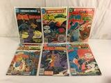Lot of 6 Pcs Collector Vintage DC, The Brave and The Bold Comic Books No.8.138.139.141.146.147.