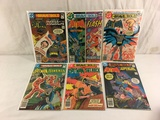 Lot of 6 Pcs Collector Vintage DC, The Brave and The Bold Comic Books No.150.151.159.160.162.164.