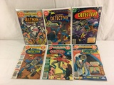 Lot of 6 Pcs Collector Vintage DC, Detective Batman's Comic Books No.482.487.490.492.473.479.
