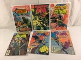 Lot of 6 Pcs Collector Vintage DC, Detective Batman's Comic Books No.494.510.512.516.518.519.