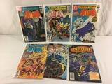 Lot of 6 Pcs Collector Vintage DC, Detective Batman's Comic Books No.473.520.521.522.523.527.
