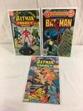 Lot of 3 Pcs Collector Vintage DC, Comics Batman Family Giant Comic Books No.14.15.16.