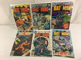 Lot of 6 Pcs Collector Vintage DC, Comics Batman Comic Books No.307.308.322.323.324.325.