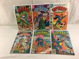 Lot of 6 Pcs Collector Vintage Dc, Comics Superboy Comic Books No.1.2.3.5.7.9.