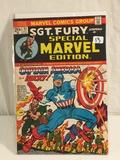 Collector Vintage Marvel Comics SGT. Fury Special Marvel Edition No.11 Comic Book