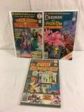 Lot of 3 Pcs Collector Vintage DC, Comics Super-Star Superboy Legion Of Super-Heries No.3.17.18.