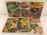 Lot of 6 Collector Vintage DC, Superman's Pal Jimmy Olsen Comic Books No.143.144.145.146.147.149.