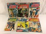Lot of 6 Collector Vintage DC, Superman's Pal Jimmy Olsen Comic Books No.150.151.152.153.154.155.