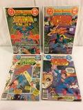 Lot of 4 Collector Vintgae Dc, Dollar Comics The Superman Family Comic Books No.186.187.193.198
