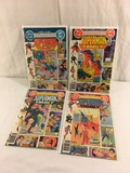 Lot of 4 Collector Vintgae Dc, Dollar Comics The Superman Family Comic Books No.199.201.202.203.