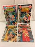Lot of 4 Collector Vintgae Dc, Dollar Comics The Superman Family Comic Books No.212.213.214.215.