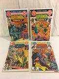 Lot of 4 Collector Vintgae Dc, Dollar Comics The Superman Family Comic Books No.216.217.218.219.