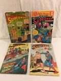 Lot of 4 Pcs Collector Vintage DC, Dollars Comic Books Superman Comic Books No.5.103.171.210.