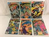 Lot of 6 Pcs Collector Vintage DC, Comics Superman Comic Books No.348.349.350.351.352.366.