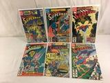 Lot of 6 Pcs Collector Vintage DC, Comics Superman Comic Books No.367.368.369.370.371.372.
