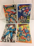 Lot of 4 Pcs Collector Vintage DC, Comics Superman Comic Books No.375.377.379.413.