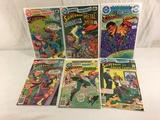 Lot of 6 Pcs Collector Vintage DC, Comics Presents Superman Comic Books No.1.4.5.6.20.21.