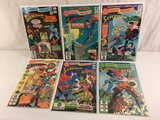 Lot of 6 Pcs Collector Vintage DC, Comics Presents Superman Comic Books No.41.42.3.44.45.46.