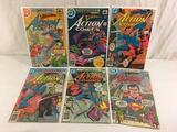 Lot of 6 Collector Vintage DC, Comics Superman's Action Comic Books No.479.491.492.496.504.505.